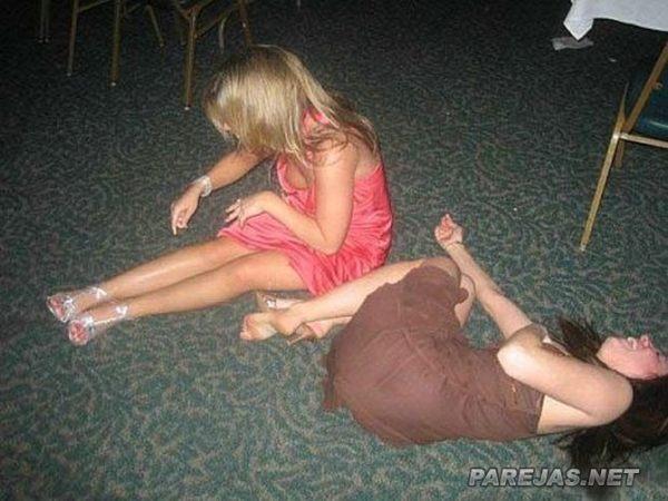 Chicas lindas y borrachas